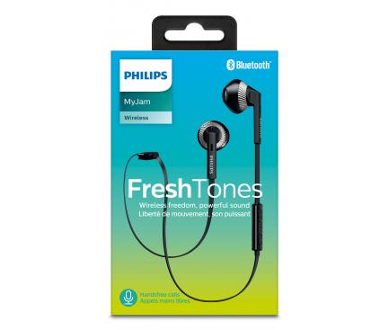 Handsfree Casti Bluetooth Philips In-Ear, Negru, Blister SHB5250BK/00