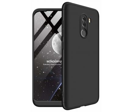 Husa Plastic OEM Full Cover pentru Xiaomi Pocophone F1, Neagra, Bulk