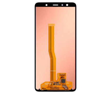 Display - Touchscreen Negru Samsung Galaxy A7 (2018) A750 GH96-12078A