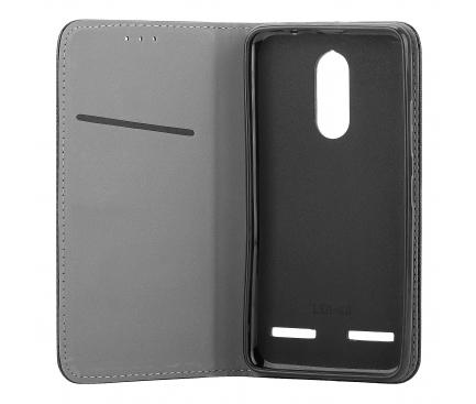 Husa Piele OEM Smart Magnet pentru Huawei P20 Pro, Neagra, Bulk