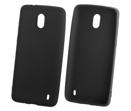 Husa TPU OEM iGel pentru Xiaomi Pocophone F1, Neagra, Bulk