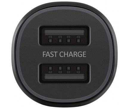 Incarcator Auto USB Samsung EP-L1100NBEGWW, 2 X USB, Negru, Blister