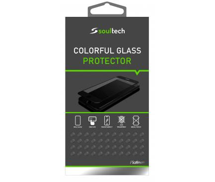 Folie Protectie Ecran Soultech pentru Apple iPhone 8 / Apple iPhone 7, Sticla securizata, Platinum EK600, Blister