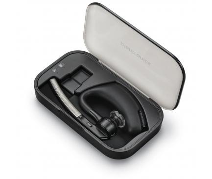 Handsfree Casca Bluetooth Plantronics Voyager Legend + Incarcator de voiaj, MultiPoint, Negru, Blister PLB00076