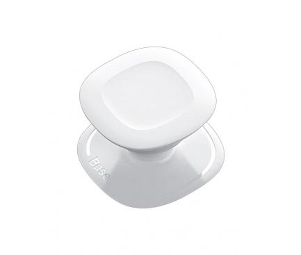 Suport Stand Adeziv Baseus SUMQN-02 pentru telefon, Alb, Blister