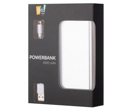 Baterie Externa Powerbank Star D32-4B 4000 mA, 1 x USB, Argintie, Blister 154625