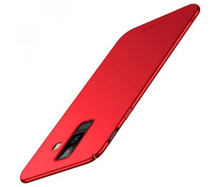 Husa Plastic Mofi Slim pentru Samsung Galaxy A6+ (2018) A605, Rosie, Blister