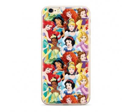 Husa TPU Disney Princess 001 pentru Apple iPhone 6 / Apple iPhone 7 / Apple iPhone 8, Multicolor, Blister