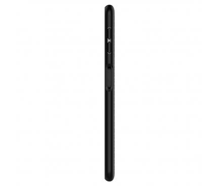 Husa TPU Spigen Liquid Air pentru Samsung Galaxy A7 (2018) A750, Neagra, Blister 608CS25555