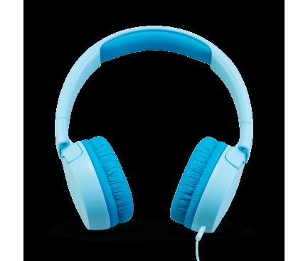 Casti Kids On-Ear JBL JR 300, Fara microfon, 3.5 mm, Bleu, Blister