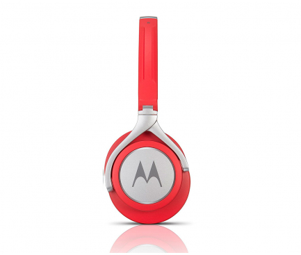 Handsfree Casti Over-Ear Motorola Moto G5 Pulse Max Stereo, Cu microfon, 3.5 mm, Rosu, Blister