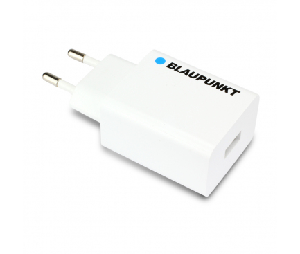 Incarcator Retea USB Blaupunkt Quick Charge 3, 1 X USB, Alb, Blister BP-QCW-20A