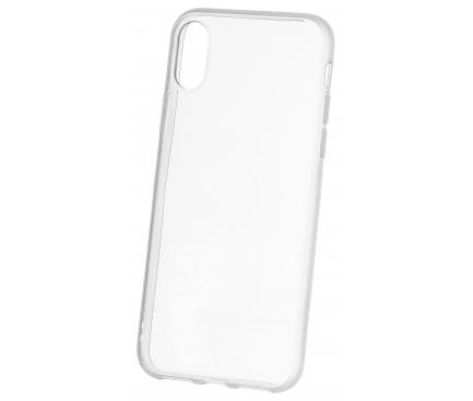 Husa TPU OEM Frosted Frame pentru Apple iPhone XS Max, Transparenta, Bulk
