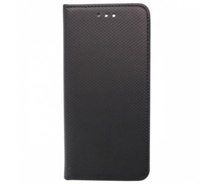 Husa Piele OEM Smart Magnet pentru Xiaomi Mi Mix 2SE, Neagra, Bulk
