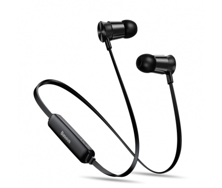 Handsfree Casti Bluetooth Baseus Encok S07, Sport, Negru, Blister