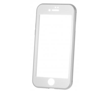 Husa Aluminiu OEM cu protectie full din sticla securizata pentru Apple iPhone XS Max, Argintie