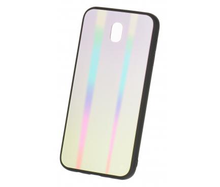 Husa TPU OEM Rainbow cu spate din sticla pentru Xiaomi Pocophone F1, Multicolor, Bulk