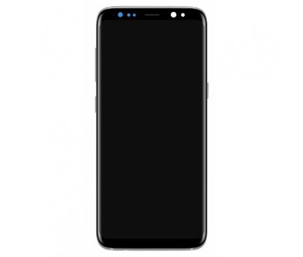 Display - Touchscreen Argintiu, Cu Rama Samsung Galaxy S8+ G955 Reconditionat