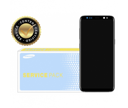 Display - Touchscreen Argintiu, Cu Rama Samsung Galaxy S8+ G955 Reconditionat
