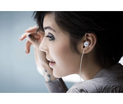Handsfree Casti EarBuds Philips Flite Hyprlite, Cu microfon, 3.5 mm, Alb - Auriu, Blister SHE4205WT/00