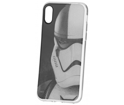 Husa TPU Disney Star Wars Stormtroopers (001) pentru Apple iPhone 6 / Apple iPhone 6s / Apple iPhone 7 / Apple iPhone 8, Gri, Blister