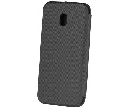 Husa Piele OEM Smart Viva pentru Apple iPhone XS Max, Neagra, Bulk