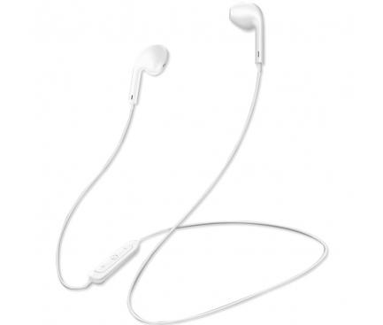 Handsfree Casti Bluetooth Totu Design Glory EAUB-15, Sport, Waterproof, MultiPoint, Alb, Blister