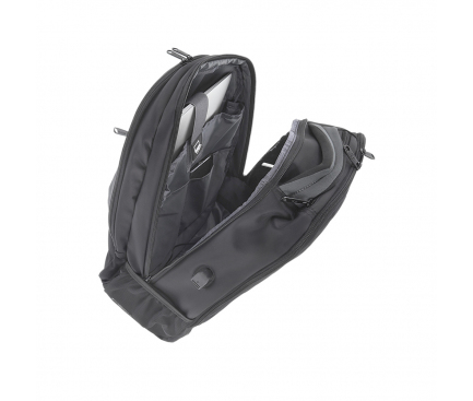 Rucsac - troller textil Tellur Carry pentru Laptop,15.6 inci, Negru TLL611272