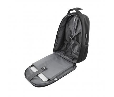 Rucsac - troller textil Tellur Rolly pentru Laptop,15.6 inci, Negru TLL611262