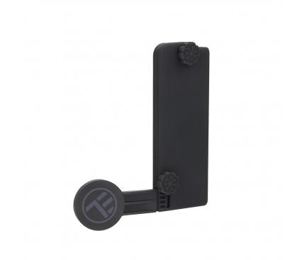 Suport birou Universal Tellur MDM pentru telefon, Magnetic, cu fixare pe ecran laptop, Negru, Blister TLL171091