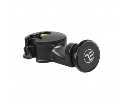 Suport Tetiera Auto Universal Tellur MCM6 pentru telefon, Magnetic, Negru, Blister TLL171072