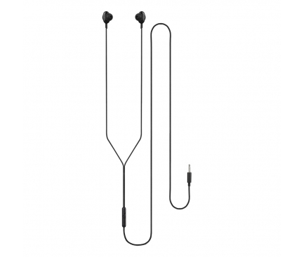 Handsfree Casti In-Ear Tellur Ebony, Cu microfon, 3.5 mm, Negru, Blister TLL162082