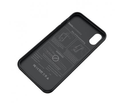 Baterie Externa TIp Husa Baseus Wayfarer BW6B Apple iPhone X / Apple iPhone XS 3500 mA, Lightning, Neagra, Blister
