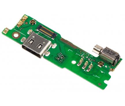 Placa Cu Conector Incarcare / Date - Microfon - Motor Vibrator Sony Xperia XA1