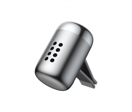 Odorizant Auto Baseus Air Vent Fragrance Little Fatty, Argintiu Blister SUXUN-PDA0S