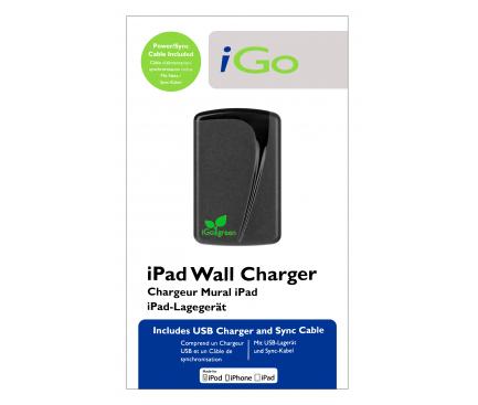 Incarcator Retea cu cablu 30-pini Apple iGO, 1 X USB, Negru, Blister PS00285-0005