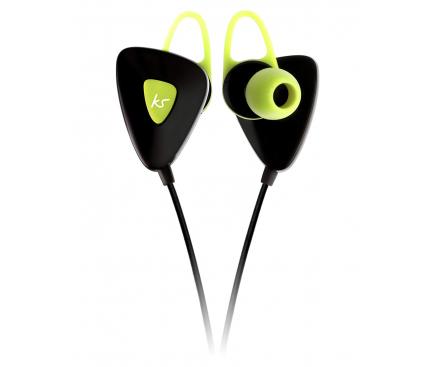 Handsfree Casti Bluetooth KitSound Trail, Sport, Verde, Blister KSTRGN