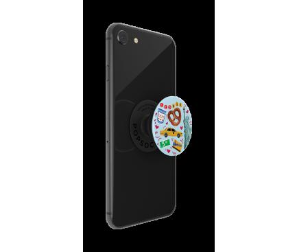 Suport Stand Adeziv Popsockets PopGrip pentru telefon New York Blister