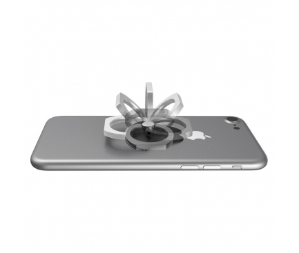Suport inel universal telefon Remax Lips Argintiu Blister Original