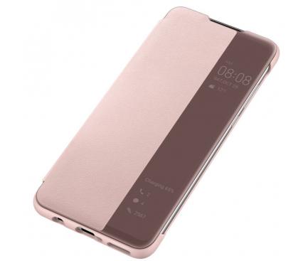 Husa Poliuretan Huawei P30 lite, View Cover, Roz, Blister 51993078