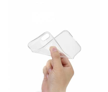 Husa TPU OEM Ultra Slim pentru Samsung Galaxy A7 (2018) A750, Transparenta, Bulk
