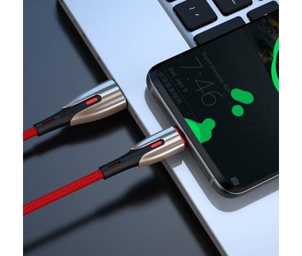 Cablu Date si Incarcare USB la USB Type-C Joyroom S-M379, 5.5A, 1 m, Rosu, Blister