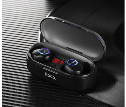 Handsfree Casti Bluetooth HOCO Buds ES24, Negru, Blister