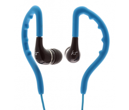 Handsfree Casti In-Ear KitSound ENDURO, Sport, Cu microfon, 3.5 mm, Albastru, Blister KSENDBL