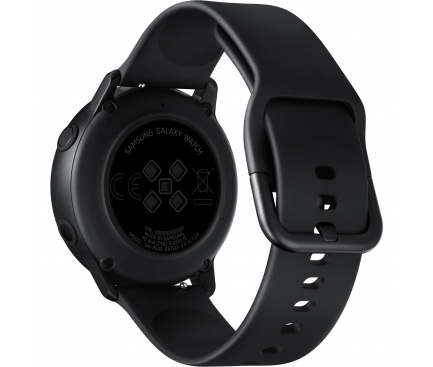 Ceas Bluetooth Samsung Galaxy Watch Active, Fitness, Negru, Blister Original SM-R500NZKAROM