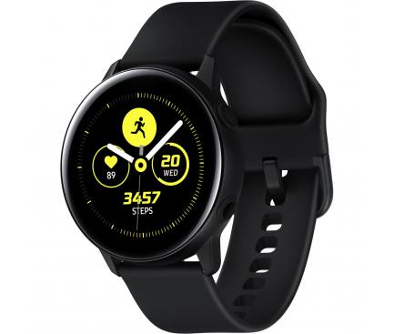 Ceas Bluetooth Samsung Galaxy Watch Active, Fitness, Negru, Blister Original SM-R500NZKAROM