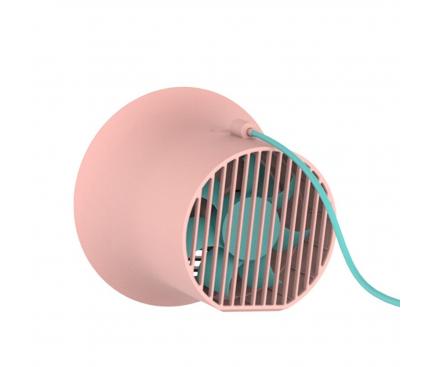 Ventilator Baseus USB Desktop Fan Dual-turbo, Roz, Blister CXLB-04
