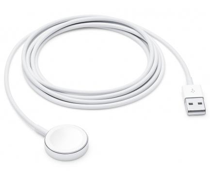Incarcator Retea Wireless Apple Watch Series 1 / 2 / 3 / 4 / 5, 1 X USB, 2m, Alb, Bulk MU9HRFTBb