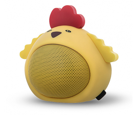 Mini Difuzor Bluetooth Forever Sweet Animal Chicken ABS-100, Multicolor Blister D1020