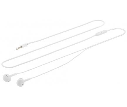 Handsfree Casti In-Ear Tellur Fly, Cu microfon, 3.5 mm, Alb, Blister TLL162152